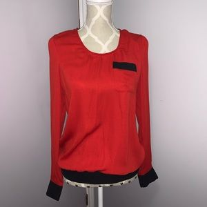 Maurices Red Blouse